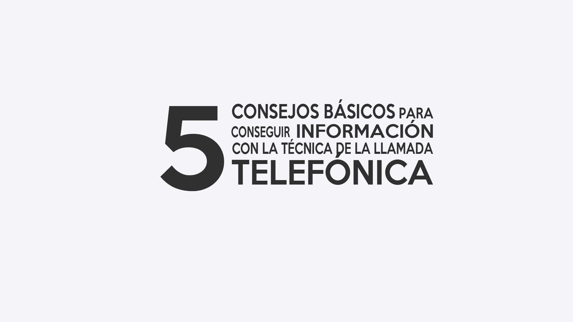 llamada telefonica espana: