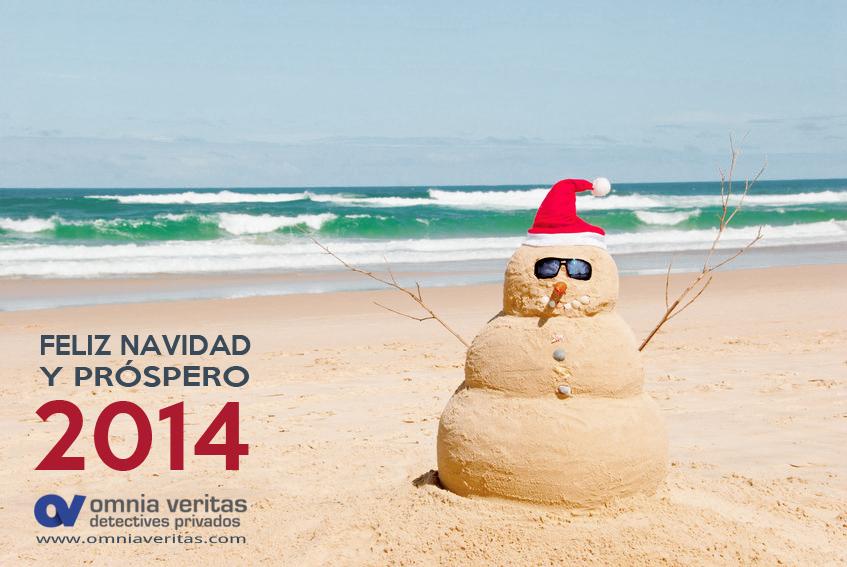 Felicitacion navidad Detectives Omnia Veritas
