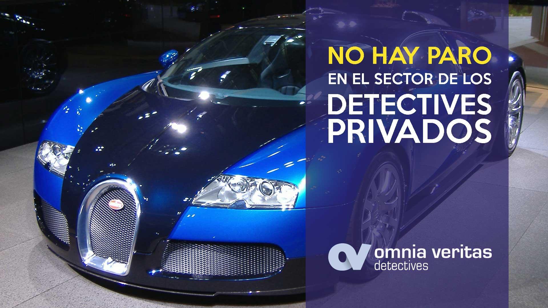 No hay paro entre los detectives privados