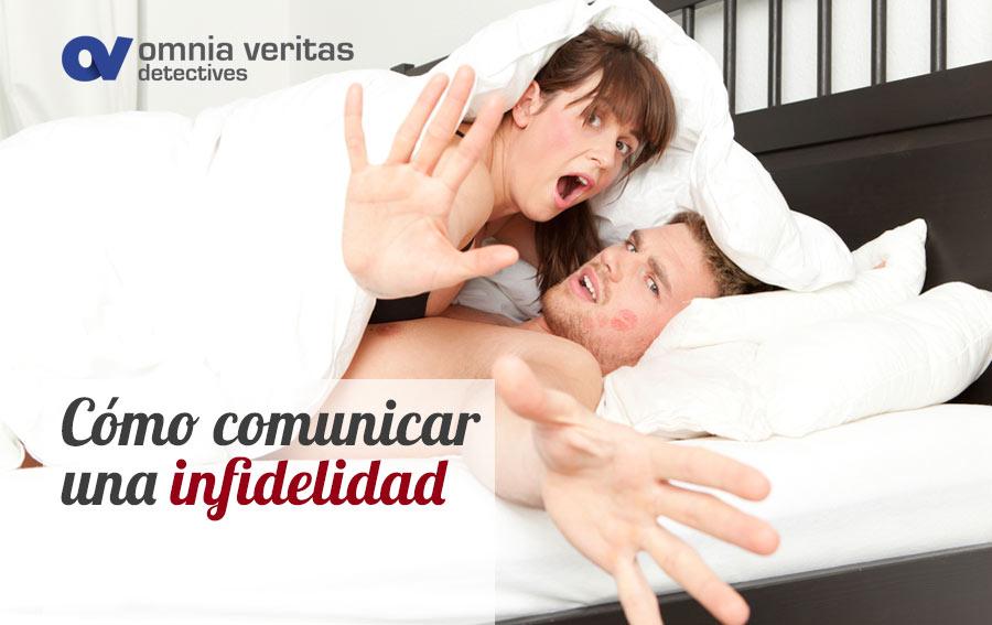 Detectives comunicar confirmar infidelidad