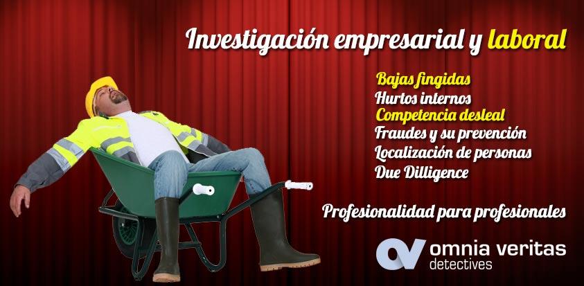 Detectives empresas y laboral