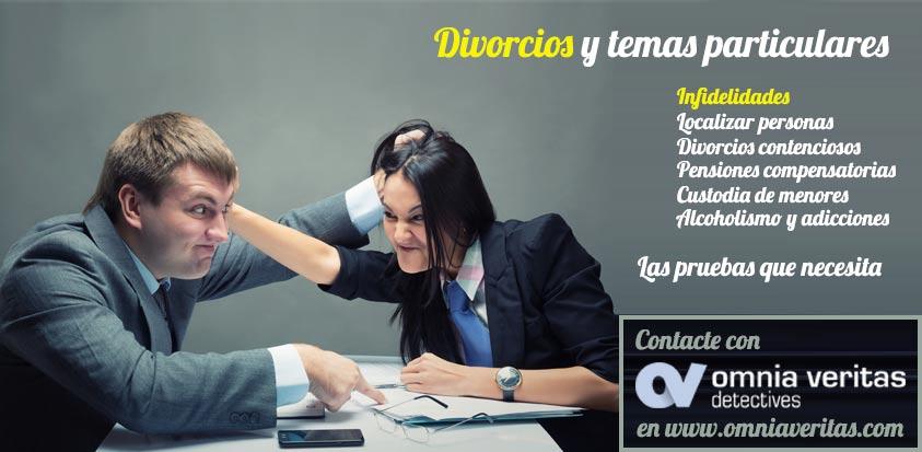 Divorcios y particulares