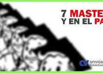 7 Masters y en el paro