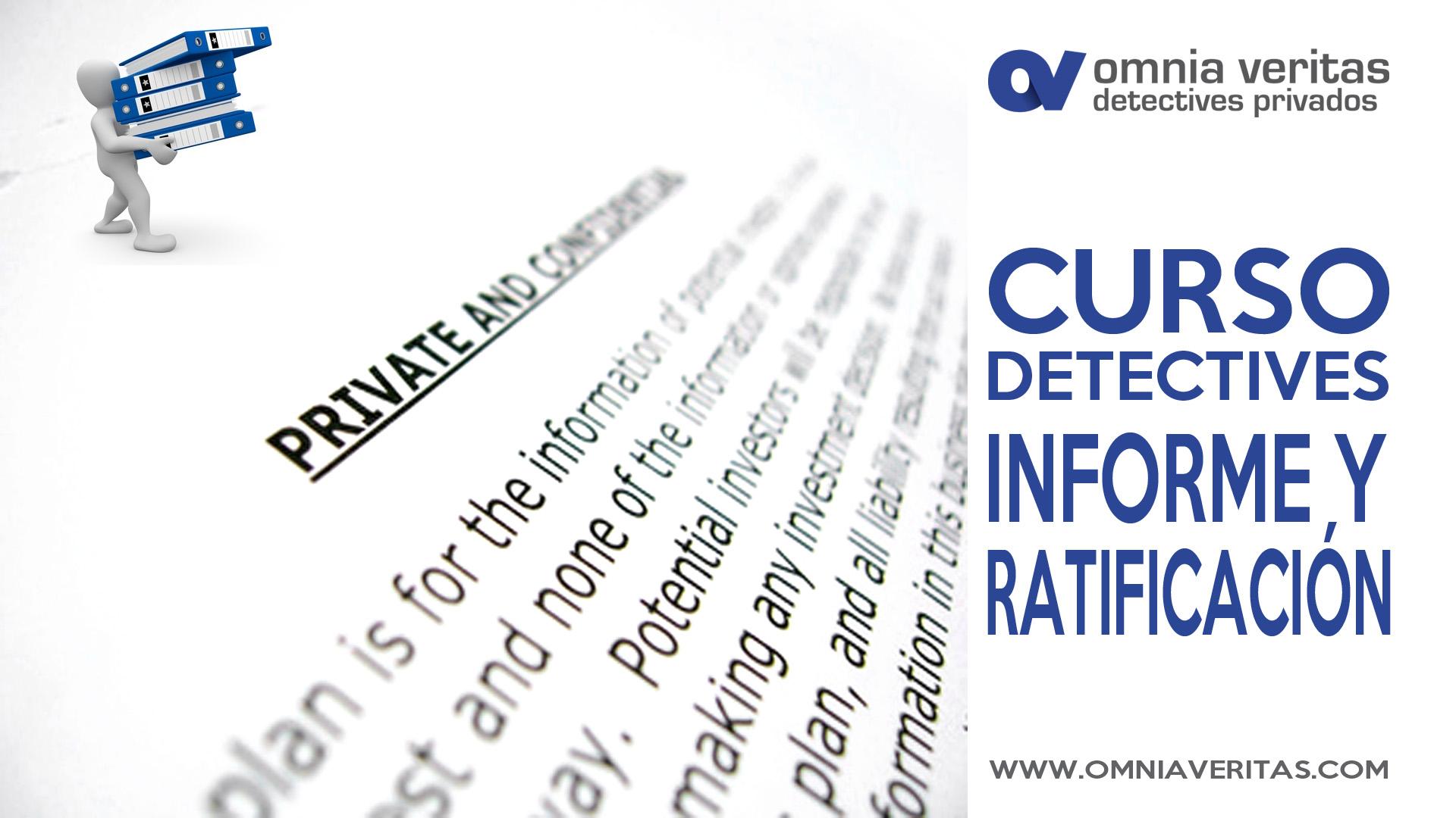 Consejos para la redacción y ratificación del informe de detectives