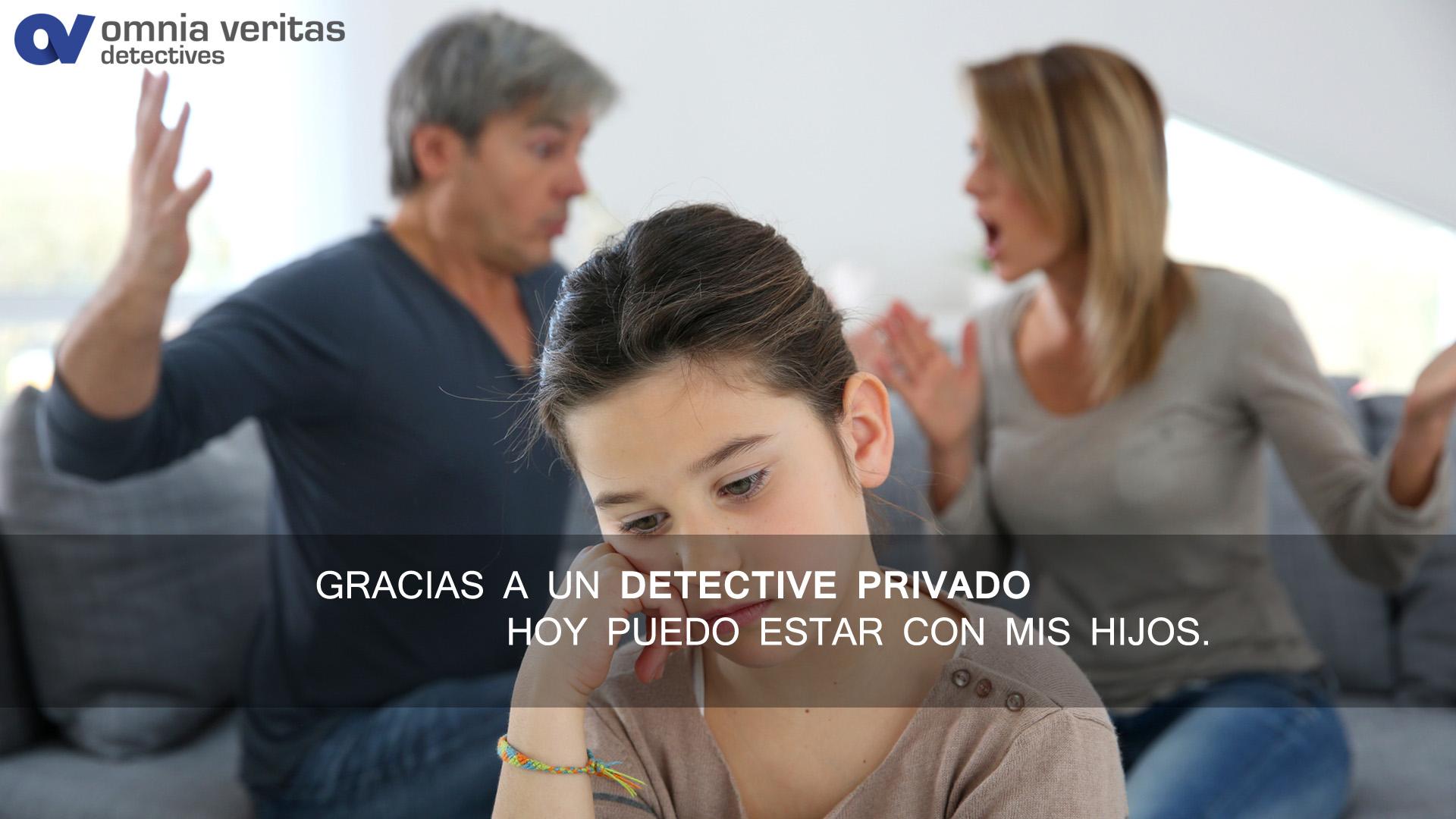 Detectives privados y custodia de menores