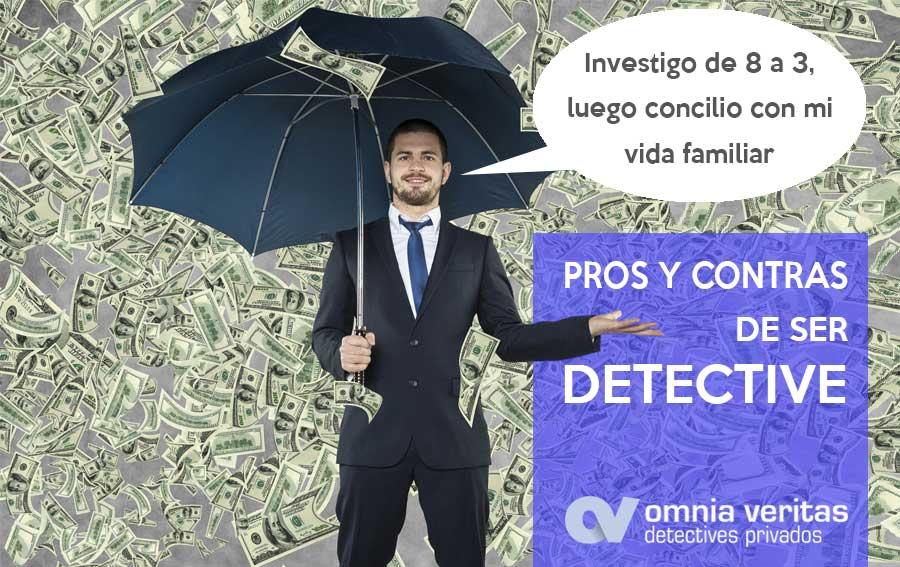 Pros y contras de ser detective