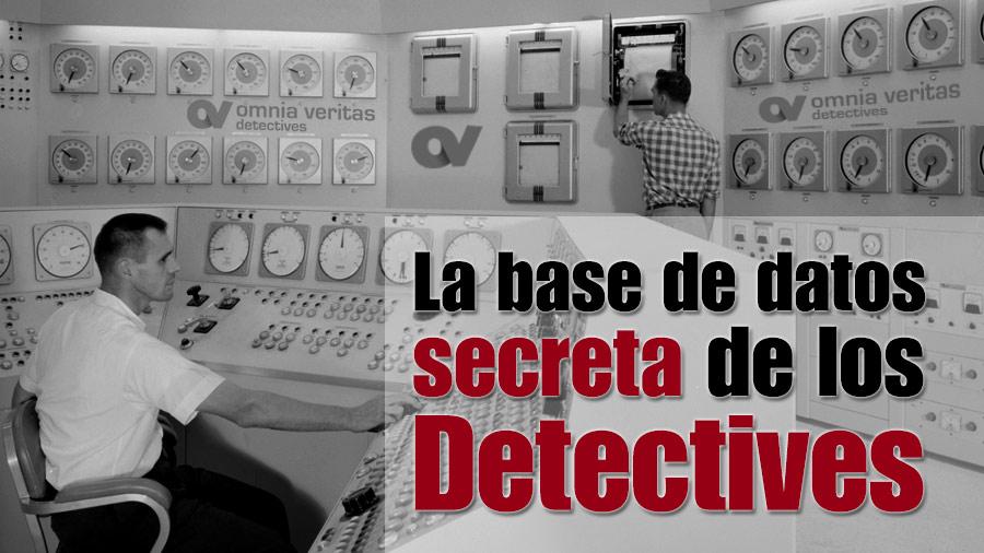 La base de datos secreta de los detectives