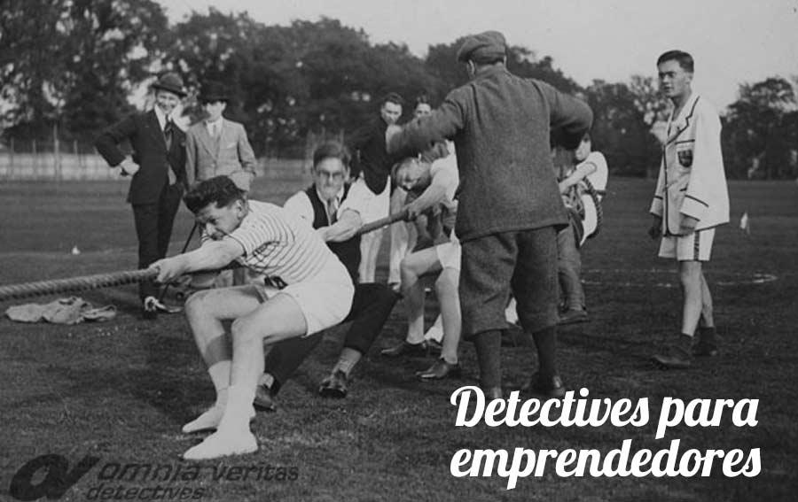 Servicios de detectives privados para emprendedores