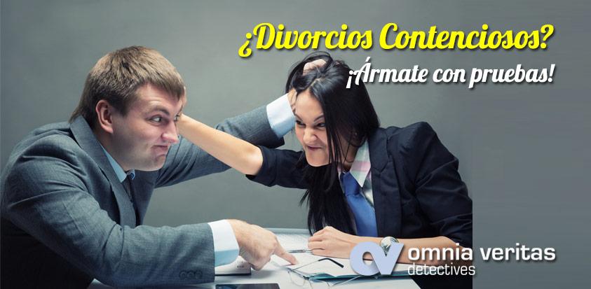 divorcios contenciosos pruebas detectives
