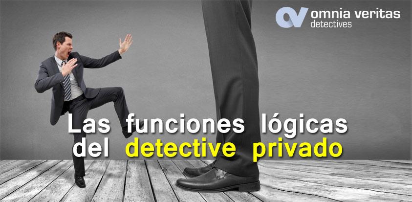 Funciones lógicas del detective privado
