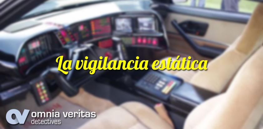 vigilancia estática detectives