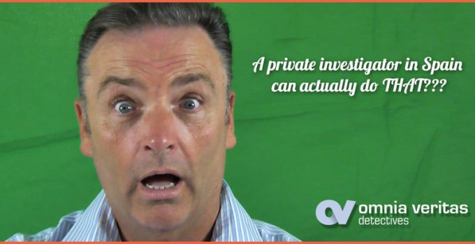 What can a private investigaro do in Spain