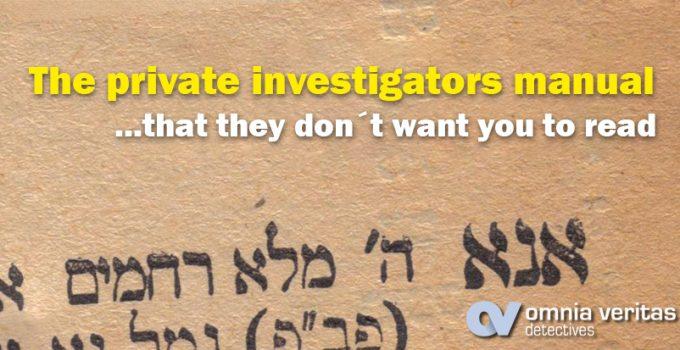 detectives-manual